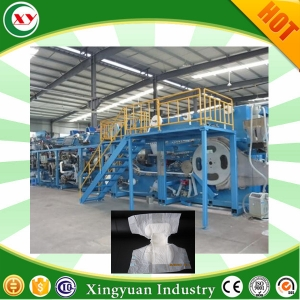 Adult diaper machine production line