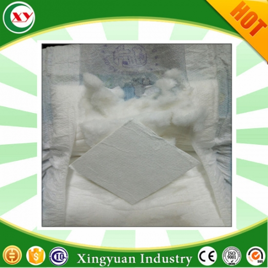 Untreated Fluff Pulp For Adult Diaper